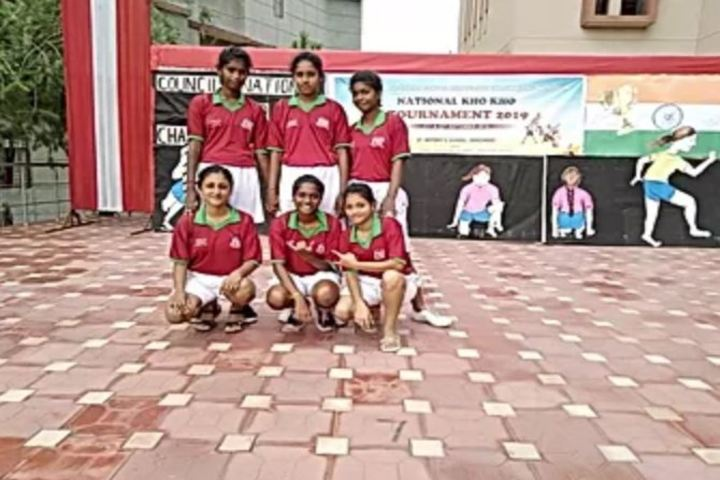 South Eastern Railway Mixed Higher Secondary School-Sports Team