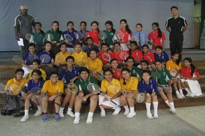 St James High School-Badminton