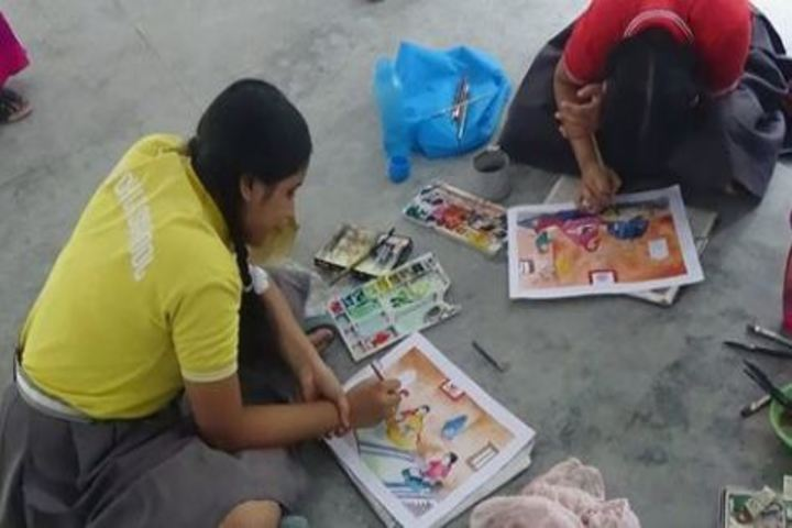 Holy Child School-Painting