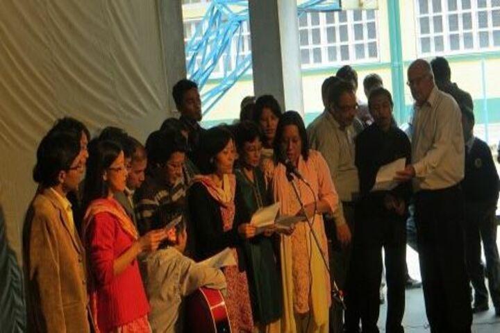 Goethals Memorial School-Singing