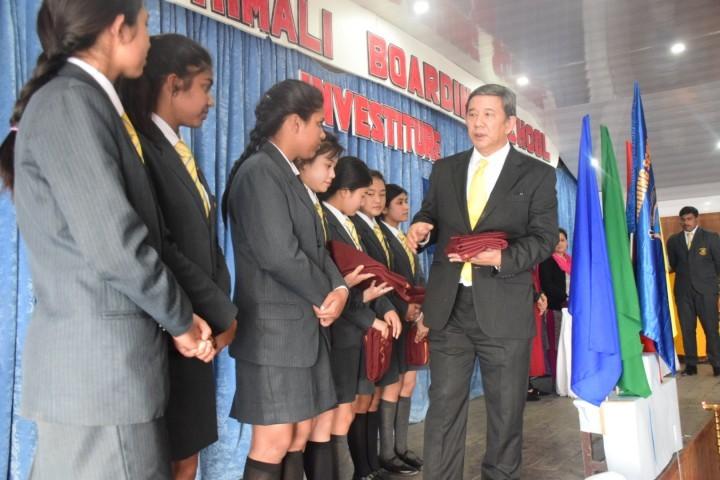 Himali Boarding School-Investiture Ceremony