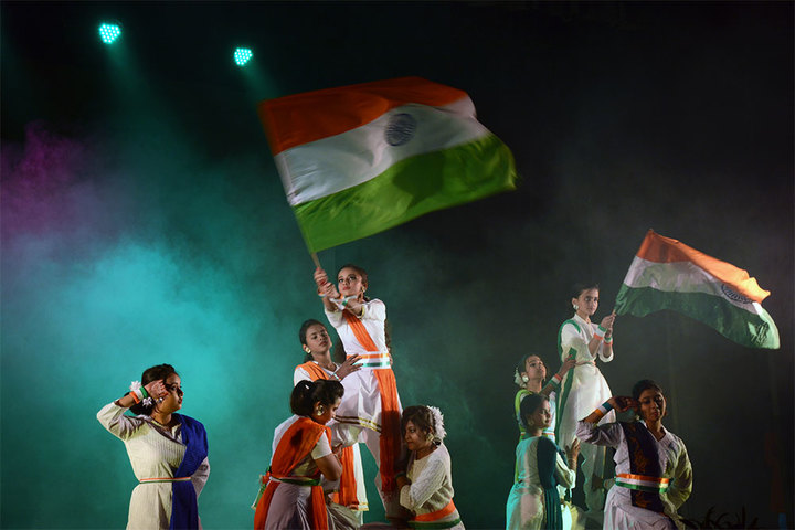 South End Centre School English Medium School-Independence Day