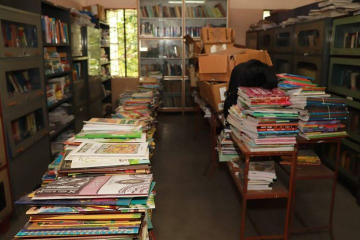 Holy Rock School-Library