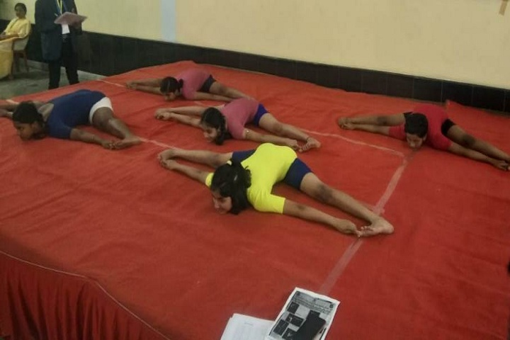 Tribeni Tissues Vidyapith-Yoga day