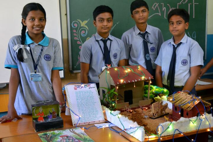 Tribeni Tissues Vidyapith-Exhibition