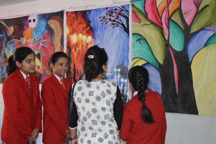 St Anthonys School-Art Exhibition