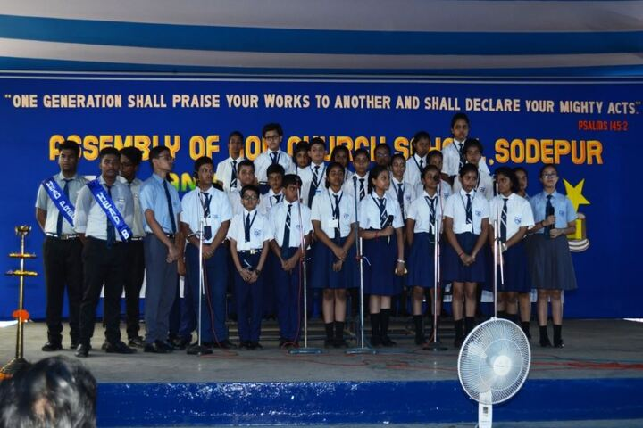 The Assembly Of God Church School-Singing