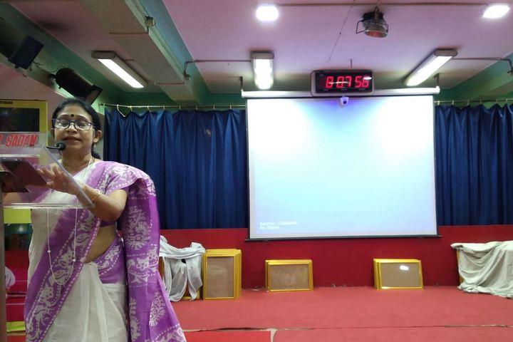 Agrasain Balika Siksha Sadan-Speech