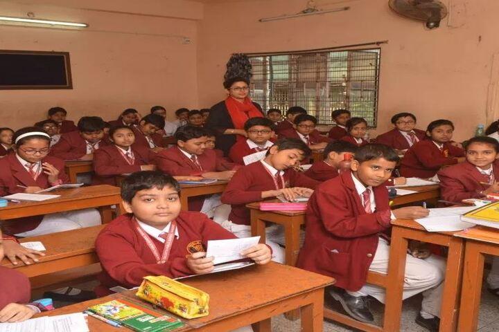 Calcutta Public School-Classroom