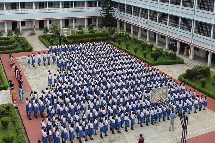 Nirmala Convent School-Assembly Ground