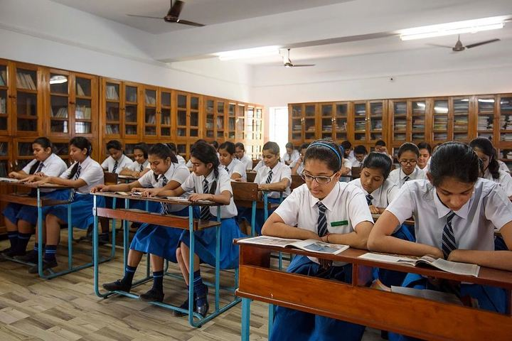 Nirmala Convent School-Library