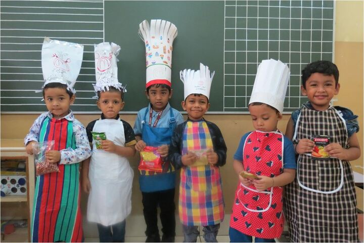 M C Kejriwal Vidyapeeth-Cooking Activity
