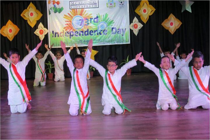 M C Kejriwal Vidyapeeth-Independence Day