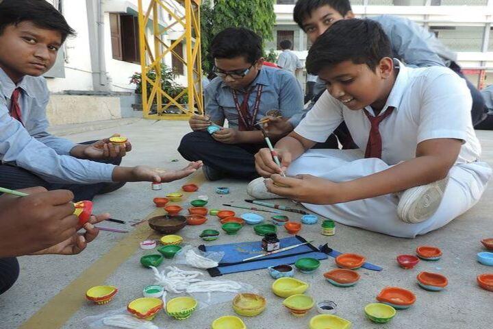 East West Model School-Diwali Celebrations