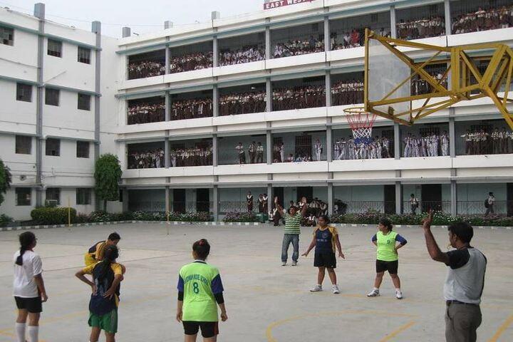 East West Model School-Basket Ball Court