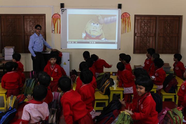 Holy Cross School-Digital Classroom