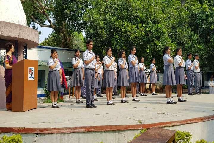 Modern English Academy-Morning Assembly