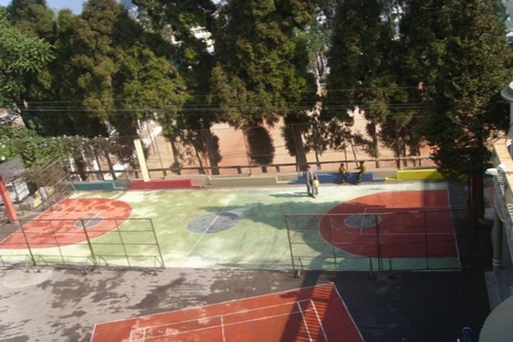 Modern English School-Basketball Court