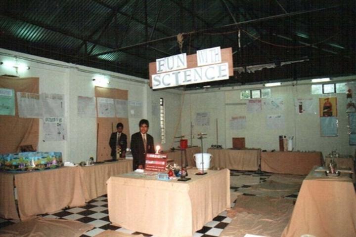 Modern English School-Science Exhibition