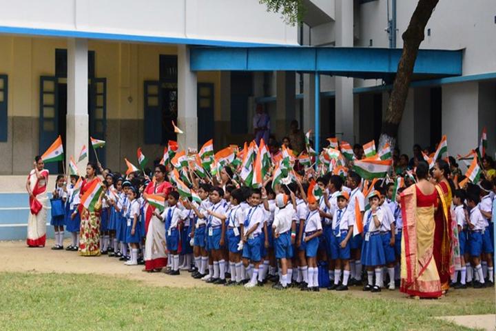 Bishop Morrow School-Republic Day
