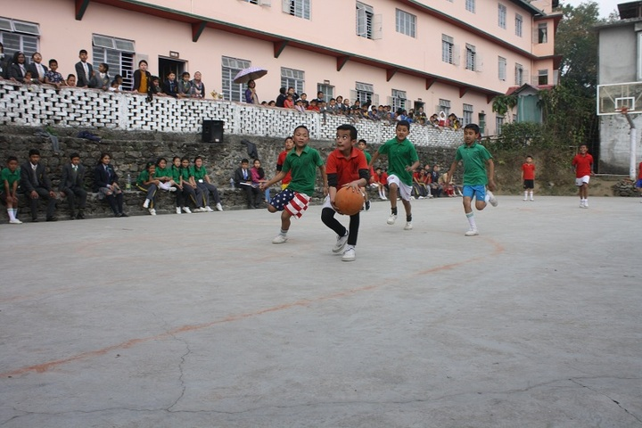 Vrindavan School-Basket Ball