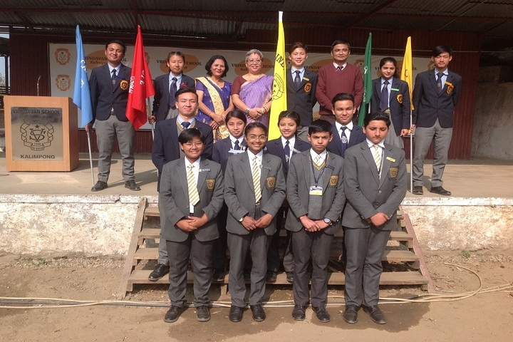 Vrindavan School-Investiture Ceremony