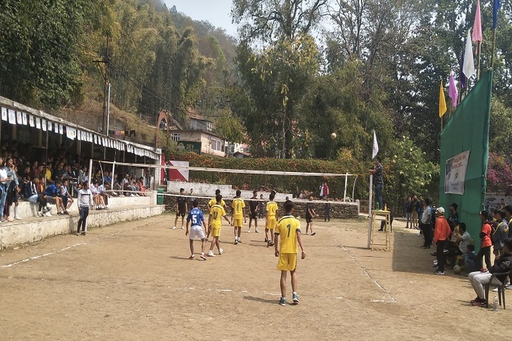 Vrindavan School-Volley Ball Court