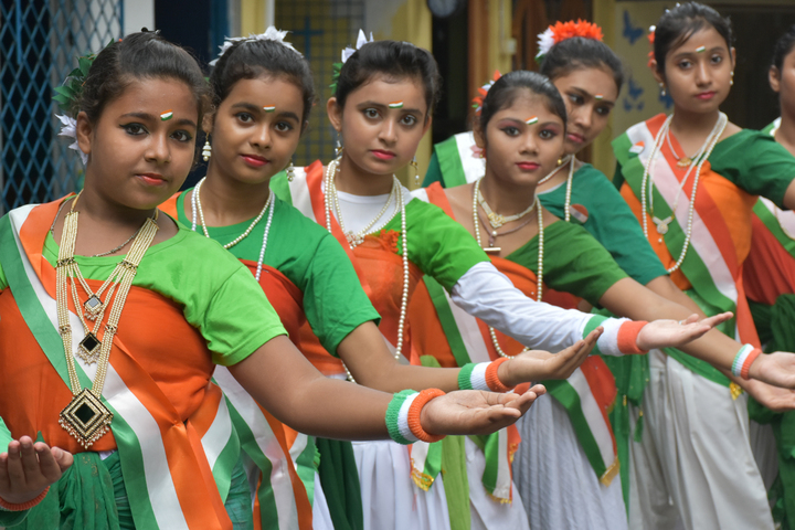 Assembly Of Christ School-Independence Day