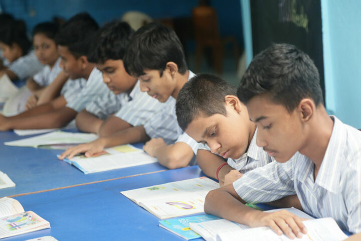 Assembly Of Christ School-Library