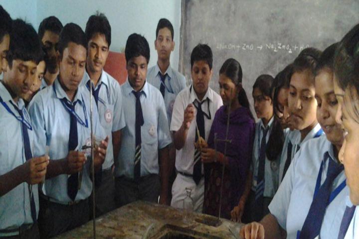 Shatavisha Public School-Chemistry Lab