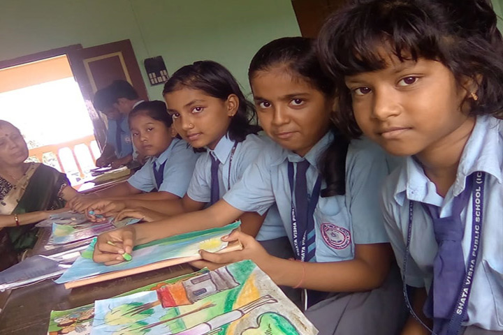 Shatavisha Public School-Drawing Competition