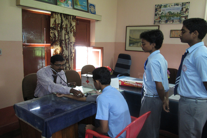 Shatavisha Public School-Medical Room