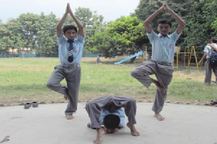 Shatavisha Public School-Yoga