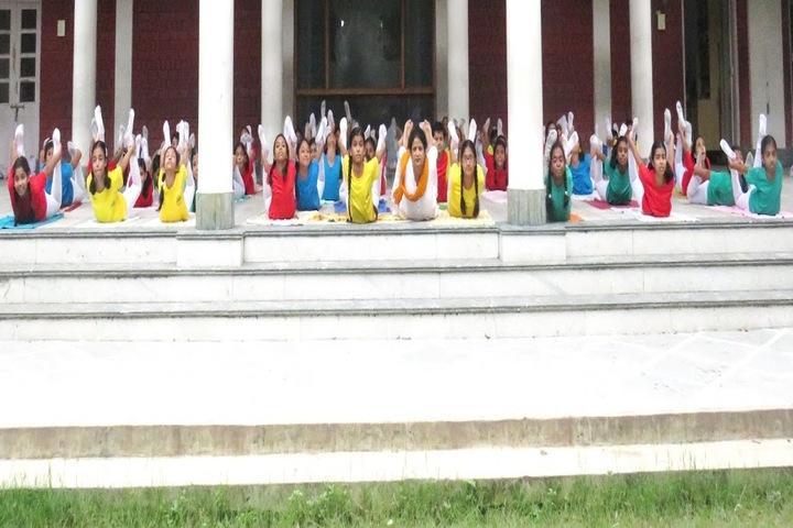 Maharishi Vidya Mandir-International Yoga Day
