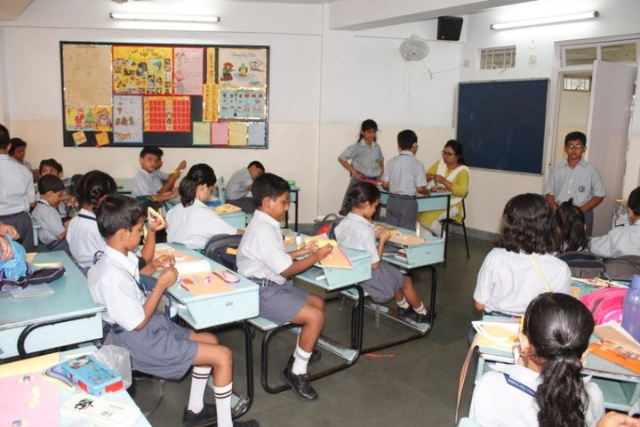 Garden High School-Classroom