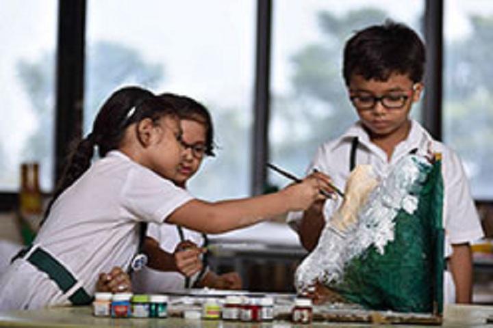 Delhi Public School Newtown-Arts