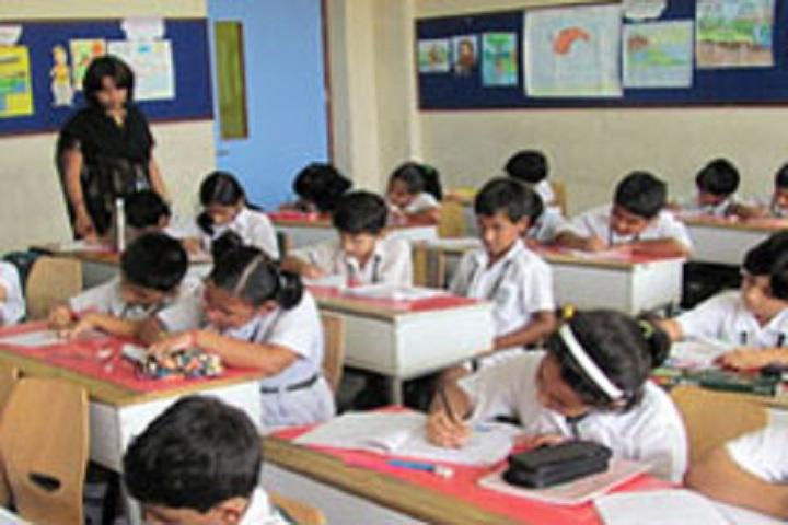 Delhi Public School Newtown-Classroom