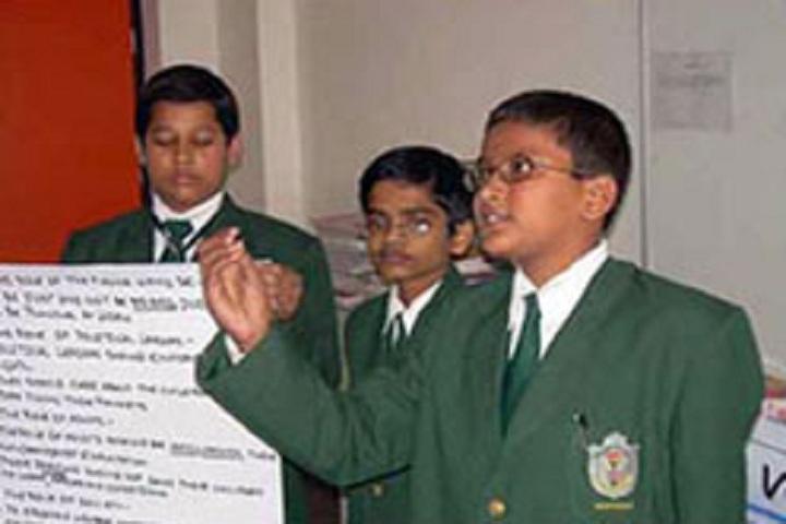 Delhi Public School Newtown-Debate competitions