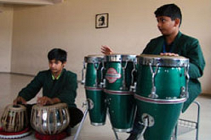 Delhi Public School Newtown-Music class