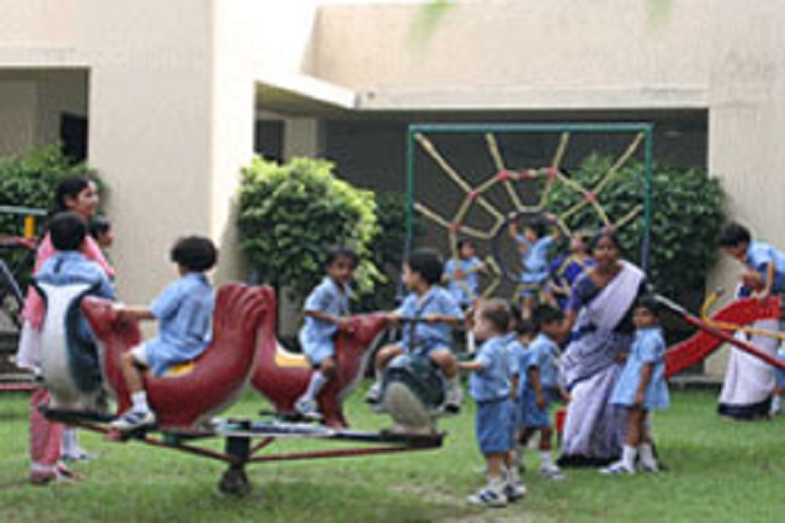 Delhi Public School Newtown-Playground