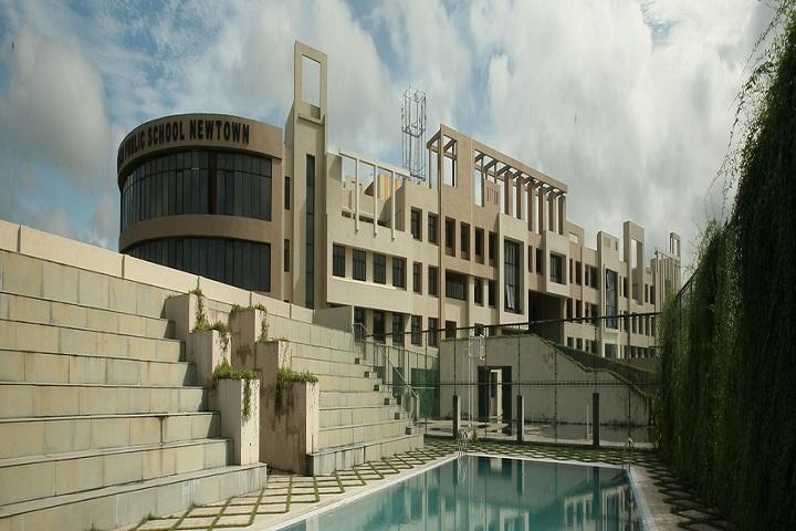 Delhi Public School Newtown-Swimming pool