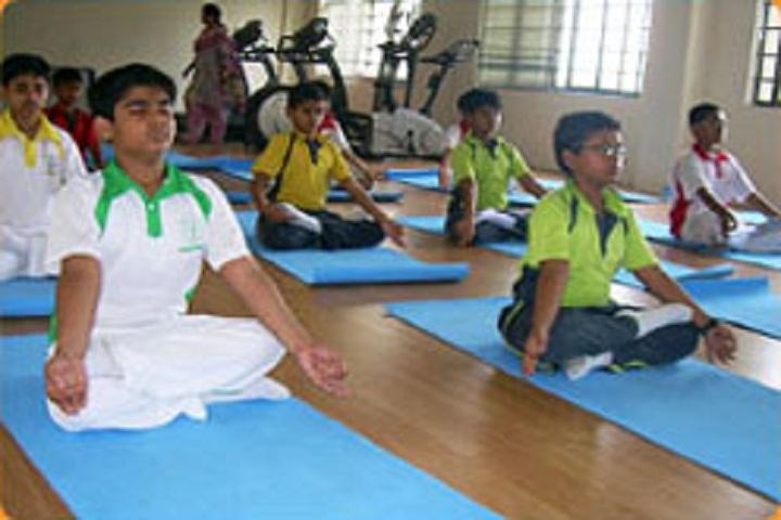 Delhi Public School Newtown-Yoga