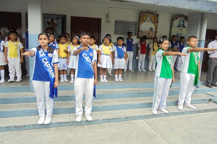 Alphonsa School-Morning Assembly