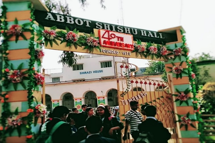 Abbot Shishu Hall-School entrances