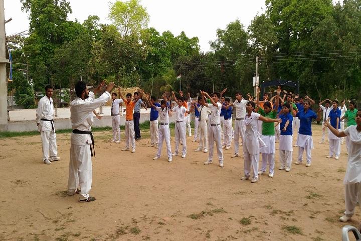 Burdwan Holy Child School-Karate
