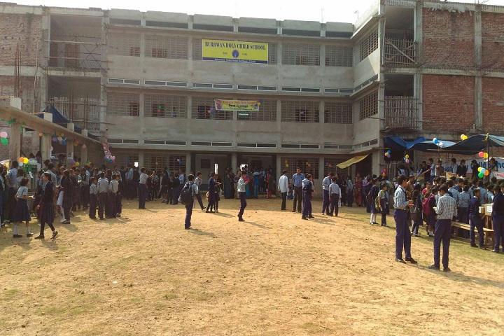 Burdwan Holy Child School-Playground