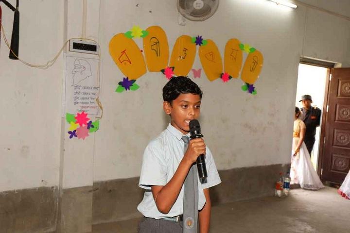 Burdwan Holy Child School-Singing