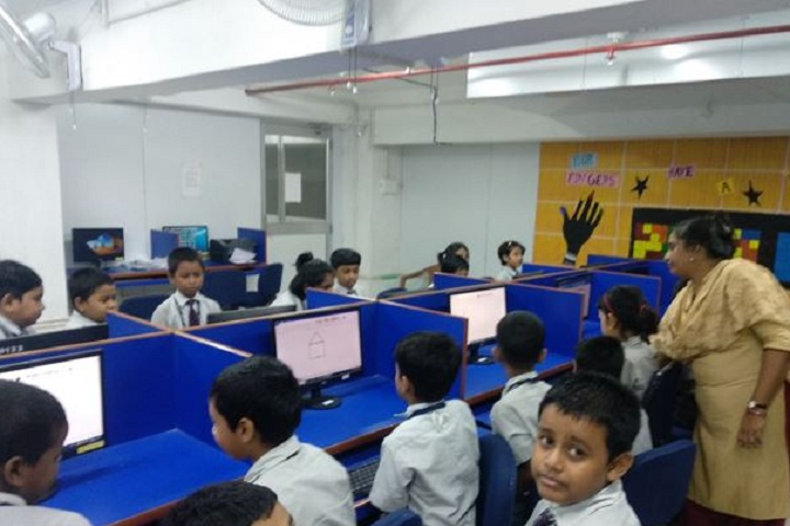 Lions Calcutta Greater Vidya Mandir-Computer lab