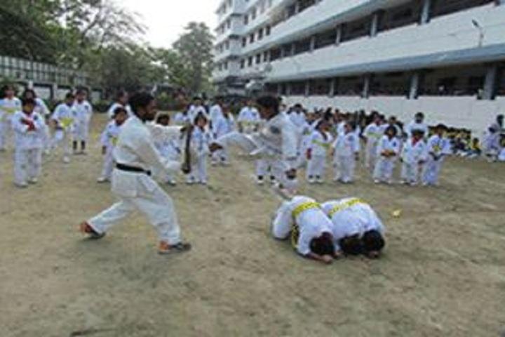Lions Calcutta Greater Vidya Mandir-Karate