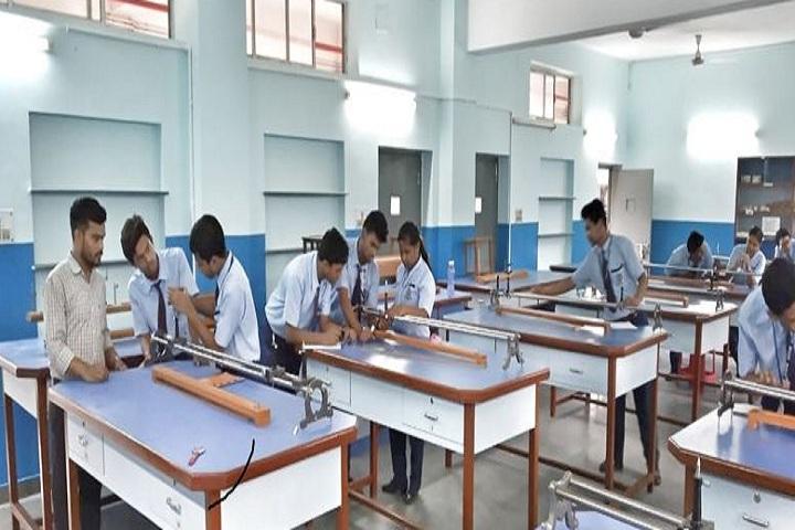 Lions Calcutta Greater Vidya Mandir-Physics lab